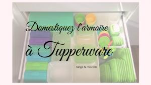 Domestiquer l'armoire à Tupperware