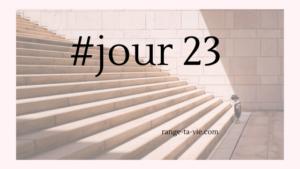 # Jour 23 / Mission (im)possible